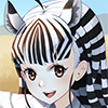 Plains Zebra (Kemono Friends)