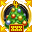 «Невероятно секретная новогодняя медаль» - награда для того, кто четыре раза помогал наряжать новогоднюю ёлку в секретных разделах.