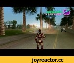Iron Man in GTA Vice City [Mod],Games,,This is the Iron Man costume from Iron Man 3 movie.