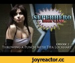 TIFA LOCKHART SUPERHERO BOOT CAMP - Episode 2,Entertainment,,Let Final Fantasy's busty beauty, Tifa Lockhart, teach you how to throw the PERFECT PUNCH!   Learn where to STRIKE AN ENEMY IN A FIGHT, and how to BREAK BOARDS!!!   MORE TIFA LOCKHART PICS HERE!!!