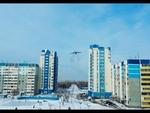 Низколетящий транспортный ИЛ-76 Оренбург 15.02.2014 (low-flying IL-76 over the City),Autos,,Сегодня около 12:00 дня над районом Степной города Оренбурга начал низко летать, пугая жителей, транспортный ИЛ-76. Летал кругами, делая крены то в одну, то в другую сторону. Летал на уровне многоэтажек, иног