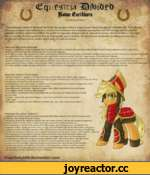 """Ш ft* Шот fcthborn """"WE ARE EQUESTRIA!"""" The militaristic regime of the House Earthborn has no equals when it comes to pure, brutal strenght and unbroken will. Years of harsh training and intense indoctrination have turned a herd of farmers into a relentless war machine that will not stop until a"""