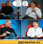 г Билл. Q что если Microsoft изобретет еще более понятный ^интерфейс?  Г мир ^  создаст еще более тупого  Roman  http:.'.'con-ixn-e.ret