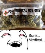 марихуанна - for medical use only