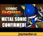 Sonic Boom - Metal Sonic Confirmed!,Games,,Special Thanks To Sonic Stadium: http://www.sonicstadium.org/2014/06/metal-sonic-is-in-sonic-boom/ 3DS Trailer (Metal Sonic at 0:34 seconds) - https://www.youtube.com/watch?v=uM8bj0A1Fvw Subscribe: