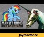 Rainbow Dash's Chamfron (My Little Pony) - MAN AT ARMS: REFORGED,Tech,,Which weapon will be next? ►►Subscribe! http://bit.ly/AWEsub Every other Monday this summer, our team of blacksmiths and craftsman will be taking some of your favorite characters and items to mash up into brand new hybrid weap