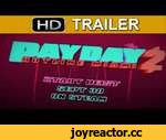 Payday 2 Hotline Miami Trailer,Games,,Payday 2 Hotline Miami Trailer