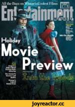 All the Buzz on Winter's^Coolest Films OCT. 312014 •№» EXCLUSIVE Johnny Depp AS THE PIMP ULLA CRAWFORD AS HIS UTTLE WHORE Into the Woods THE MOST MAGICAL MUSICAL OF THE YEAR Holiday PLUS Angelina Jolie's Most Daring Role: Director The Hobbes Insane Last Battle Disney's Cutest Robot Eve