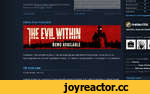 "Download The Evil Within Demo from the Demo button our store page. Ruvik: ПОДРОБНЕЕ Комментариев: 71 or a 60 FPS cap. Additionally, players will be able to disable the letterbox ""black bars"" in the game settings -- allowing you to maximize your