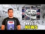WAT news: Троллей ждет тюрьма и лечебная сила алкоголя!,Comedy,,Оставляйте комменты и не забывайте про зеленый палец под видео. Ссылки на новости про троллинг: http://ria.ru/world/20141019/1029037869.html про тульского стрелка: http://www.interfax.ru/russia/402638 про спасение Мисси: http://m