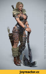 Norse - Concept by MinSoo Kim 3D by G.Magno - gilbertomagno.com