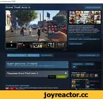 owered. с с m/a р p/271590/ Все игры > Экшены > Grand Theft Auto V Grand Theft Auto V Центр сообщества Snapmatic Оформите предварительную покупку до 01.02.15, и получите 1 ООО ООО GTA $ в сюжетном режиме и 300 000 GTA $ для Grand Theft Auto Online, а также бесплатную цифровую копию Grand Theft