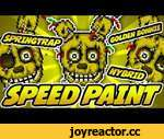 ► SPEEDPAINT - Five Nights at Freddy's 3 - Golden Bonnie - Pixel art animation,Games,,★ See final Icon animation here http://geeksomniac.deviantart.com/art/Golden-Bonnie-Five-Nights-at-Freddy-s-3-Icon-510021311  ★ See more complete version of this icon on redbubble http:/