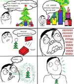 (с) FFFUUU.RO, Ура, Новый год, интересно, что же^ мне подарил ¿душка мороз... рррии ииии ииии ииии ииии ииии- о / г пахучая ёлочка!!! 11! 1! 1?? жих: ттт