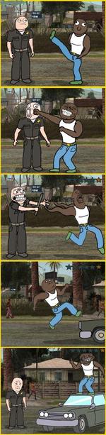 Троль в GTA San Andreas