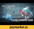 [TEASER]Friendship is Epic - Playable Character Trailer,Gaming,My Little Pony: Friendship Is Magic (TV Program),We will exhibit at Thailand Pony Convention March 19 – 20 th 2016!  - FiE Official Site [EN] http://fie.main.jp/b/en [JP] http://fie.main.jp/b  - The First Actors ht