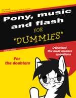 It's normal, beat ponies for poor taste in music...