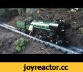 Large/Awesome Lego Train Set. Going through the Garden & House,Gaming,Lego Trains Garden,A Lego Train with a GoPro on it, going through the house and into the garden. TrainGuy's Lego Train Set 2016. There is about 50 meters of Lego track where the train travels throughout the set. With the help of