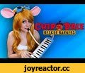 Chip and Dale Rescue Rangers - Gingertail Cover,Music,Alina Gingertail,Алина Рыжехвост,кавер,укулеле,гитара,песня,Чип и Дейл,Спешат на помощь,Chip'n' Dale,Rescue Rangers,Theme Song,Opening,Cover,Soundtrack,Cartoon,Disney,Ukulele,Guitar,Vocal,Acoustic,Cosplay,Косплей,Уши сшила года два назад, решилас