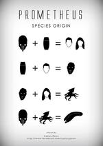 PROMETHEUS SPECIES ORIGIN • + I = Ofl z I + o = 9 9 + Ck = w ortwork by Carlos Poon http://www.facebook.com/carlos.poon