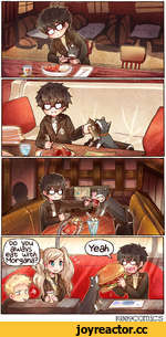 /00 you \ аыауз, ] eat with .Morgana/