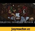 Drawing isometric bunker. Part 5  | Universe 113 - poster,Gaming,drawing,photoshop,anomaly world,egor klyuchnyk,inking,character design,concept,art,coloring,timelapse,creating,process,rpg,isometric,game,developing,mage,totoro,futurama,alien,mad max,dorohedoro,evangelion,poster,Support me on