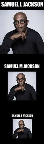 SAMUEL I JACKSON SAMUIL M JACKSON