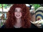 Meeting Merida @ Disneyland USA,Entertainment,Disneyland,Disney,Pixar,Brave,Princess,Merida,Meet,Greet,Bear,Cubs,Archery,USA,You can now meet Princess Merida from Disney & Pixar's new animated film  BRAVE. In theater's June 22! FaceBook: http://facebook.com/ThatDisneyKid
