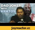 Dad Jokes with Kratos,Gaming,kratos,videogames,video games,polygon,god of war,god of war 4,christopher judge,tealc,kratos voice actor,kratos va,cory barlog,comedy,dad jokes,jokes,bad jokes,atreus,god of war voice actor,god of war voice,kratos dad,kratos father,kratos daddy,stargate,Kratos may be a