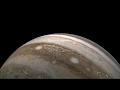 Perijove 13,Education,,NASA / SwRI / MSSS / Gerald Eichstädt / Seán Doran  'Ég heyrði allt án þess að hlusta' by Jóhann Jóhannsson  Re-timed / gamma / masked blends / sharpen based on this source: https://www.youtube.com/watch?v=F-O2BjNtOt0
