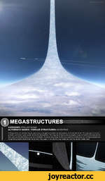 CATEGORY: STELLAR SCALE ALTERNATE NAMES / SIMILAR STRUCTURES: NIVEN RING A Ringworld is an artificial ring in space large enough to maintain an atmosphere and habitable land. The ring spins to create g-forcest and inner walls would hold in the atmosphere. The ring could have a radius roughly eq