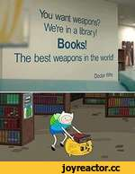 №ant weapons'?