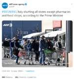 В Италии бунты в тюрьмах из-за коронавируса,News & Politics,политика,медицина,здоровье,правительство,туризм,туристы,Италия,эпидемия,китай,лечение,Венеция,Рим,люди,запрет,границы,пациенты,итальянцы,паника,профилактика,уханьский вирус,коронавирус,Карантин,Милан,Общее число инфицированных коронавирусом