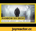 Tom Clancy's Rainbow Six Siege - Operation Shadow Legacy - Call me Zero,Gaming,R6,R6S,Rainbow Six Siege,Zero,new gadget,hard breacher,new operators,operation shadow legacy,SHADOW LEGACY,CGI,Trailer,operator nationality,fps,special ops,5 vs 5,Ubisoft,Ubisoft Montreal,agents,new agents,Year Five,Year