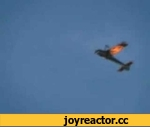 LUCKY SON OF A BITCH,Autos,,stunt plane loses wing during flight amazing pilot manages to control and safly lands no joke its mad