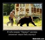 """Я тебе покажу """"Провел!"""" скотина лохматая! такую бабу спугнул! •/«г«г Babruisk.com"""