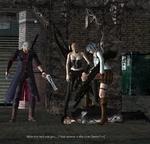 SSI &s? \ % <1 4L 0 I *c | r >* Who the hell are you...? And where is the true Dante? >:(