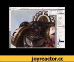 How to Paint Digitally: Warhammer 40,000 Black Templar Space Marine: Speed Paint Tutorial,Education,,http://nicholaskay.com **** IF YOU LIKE WHAT YOU SEE, PLEASE 'LIKE' THIS VIDEO AND  SUBSCRIBE TO MY CHANNEL**** (Sorry for the caps!) :-p  PRINTS AVAILABLE