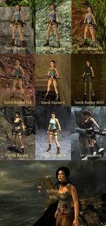 Tomb Raider I tdTnb Rader If Tomb Raider III Tomb RaiderTLR Tomb Raider C Tomb Raider AOD Ttfinb B Tomb Raider L TR Ufldei