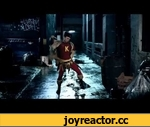 Injustice: Gods Among Us  Gamestops Bizarre Red Son Commercial,Entertainment,,Okay so we have to admit that this is one of the more bizarre commercials we've ever seen from Gamestop. Why does the guy use sausage nunchucks?