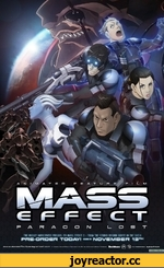 THE HIGHLY ANTICIPATED PREOUEL TO MASS EFFECT 3 • FROM THE STUDIO BEHIND GHOST IN THE SHELL PRE-ORDER TODAY ! AVAILABLE ON NOVEMBER 13th