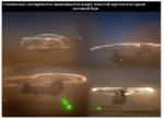 Статическое электричество накапливается вокруг лопастей вертолета во время песчаной бури