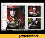 Process: Mad as a Hatter,Entertainment,,you can see the final result here: http://0mri.deviantart.com/#/d3e81ac http://www.facebook.com/0mrik (facebook) http://0mri.deviantart.com (gallery on DA) http://omrikoresh.blogspot.com (blog) hello all! i made this video after some people asked me how i