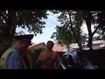 Самосуд пьяному виновнику ДТП.,Autos,,Крупное ДТП на Александра Невского. Неадекватный водитель на «Лексусе» разбил пять машин и сам перевернулся. В этот момент в машине виновника происшествия находилась его беременная жена с ребёнком. Пострадавших, к счастью, нет.