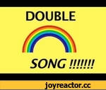 DOUBLE RAINBOW SONG!! (now on iTunes),Shows,double,rainbow,song,all,the,way,cross,sky,yeah,what,does,this,mean,yosemite,bear,auto,tune,remix,so,bright,vivid,intense,iTunes download: http://itunes.apple.com/us/album/double-rainbow-song-single/id382313768  shirts: