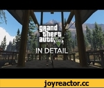 """Grand Theft Auto V In Detail,Games,,As sort of a follow up to my """"Flip-Flopping Freaking Flip-Flops"""" video, i thought i'd show some of my favorite details and small functions in Grand Theft Auto V.  Leave a comment saying what details in GTA V impressed you the most!  Music by Approaching Nirvana:"""